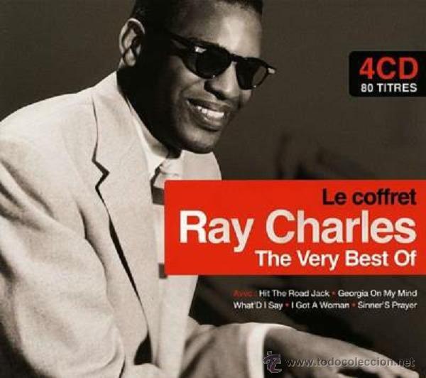 RAY CHARLES * BOX 4CD * THE VERY BEST OF RAY CHARLES * LTD DIGIPACK * PRECINTADO * 80 PISTAS (Música - CD's Jazz, Blues, Soul y Gospel)