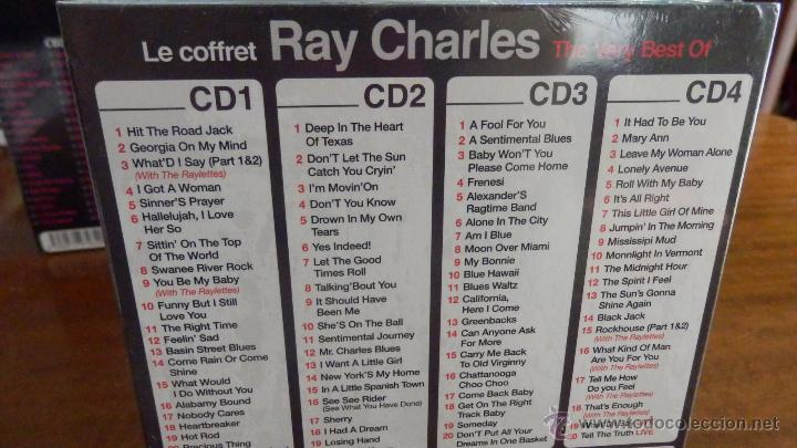 CDs de Música: RAY CHARLES * BOX 4CD * The Very Best Of Ray Charles * Ltd Digipack * Precintado * 80 Pistas - Foto 2 - 97094368