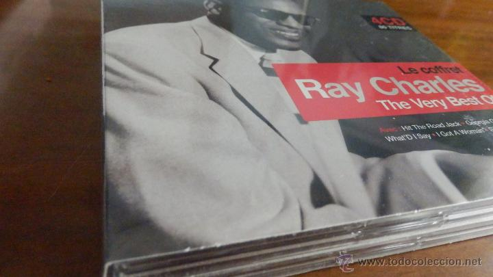 CDs de Música: RAY CHARLES * BOX 4CD * The Very Best Of Ray Charles * Ltd Digipack * Precintado * 80 Pistas - Foto 3 - 97094368