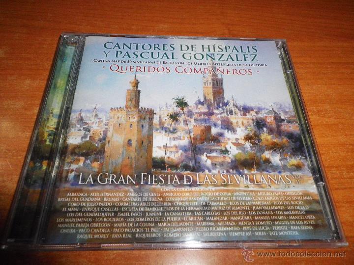 CANTORES DE HISPALIS Y PASCUAL RODRIGUEZ QUERIDOS COMPAÑEROS CD + DVD EL MANI PEPE DE LUCIA AÑO 2011 (Música - CD's Flamenco, Canción española y Cuplé)