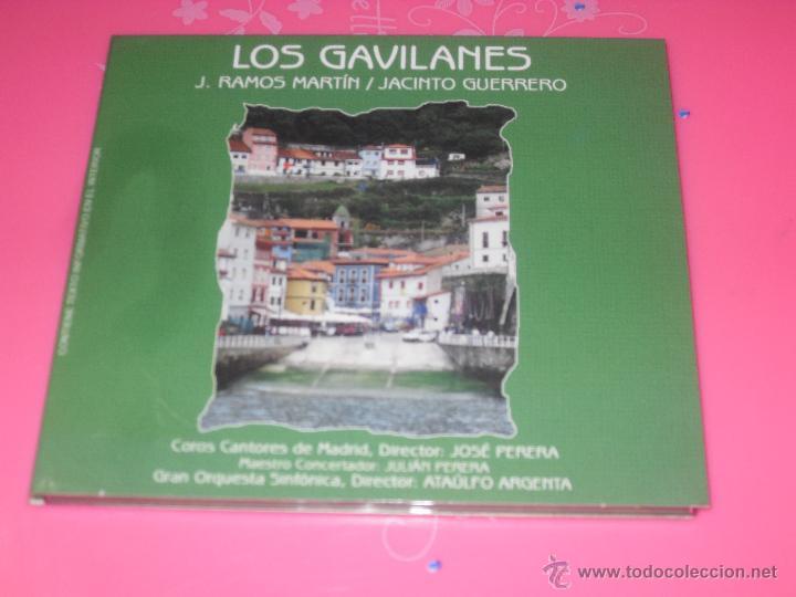 LOS GAVILANES. ZARZUELA COMPLETA. CD MUSICA. (Música - CD's Clásica, Ópera, Zarzuela y Marchas)