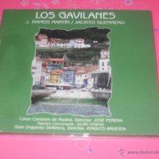 CDs de Música: LOS GAVILANES. ZARZUELA COMPLETA. CD MUSICA.. Lote 237375825