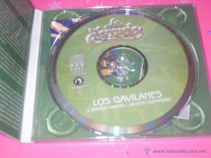 CDs de Música: LOS GAVILANES. ZARZUELA COMPLETA. CD MUSICA. - Foto 2 - 237375825