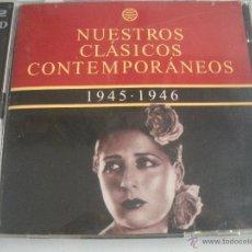 CDs de Música: MAGNIFICO CD- DE CLASICOS -CONTEMPORANEOS DESDE EL AÑO 1945 - 1946 - CONCHITA PIQUER, ETC-. Lote 48695652