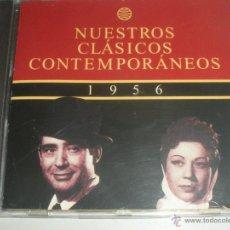 CDs de Música: MAGNIFICO CD- DE CLASICOS -CONTEMPORANEOS DEL AÑO 1956 -ESTRELLITA DE PALMA - PEPE BLANCO - ETC-. Lote 48707042