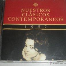 CDs de Música: MAGNIFICO CD- DE CLASICOS -CONTEMPORANEOS DEL AÑO 1957 - SARA MONTIEL -GRACIA MONTES - - ETC-. Lote 48707077
