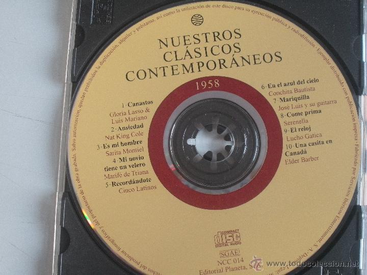 CDs de Música: MAGNIFICO CD- DE CLASICOS -CONTEMPORANEOS DESDE EL AÑO 1958 -GLORIA LASSO & LUIS MARIANO ETC- - Foto 2 - 48707179