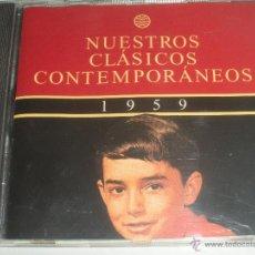 CDs de Música: MAGNIFICO CD- DE CLASICOS -CONTEMPORANEOS DEL AÑO 1959 - GLORIA LASSO - ANDY RUSELL ETC-. Lote 48707272