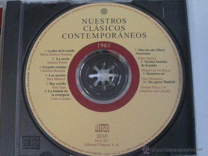 CDs de Música: MAGNIFICO CD- DE CLASICOS -CONTEMPORANEOS DEL AÑO 1959 - GLORIA LASSO - ANDY RUSELL ETC- - Foto 2 - 48707272