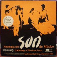 CDs de Música: ANTOLOGÍA DEL SON DE MÉXICO - ANTHOLOGY OF MEXICAN SONES - 3 CDS + LIBRETO. Lote 48716483