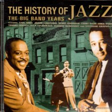 CDs de Música: . CD THE HISTORY OF JAZZ THE BIG BAND YEARS. Lote 48747236