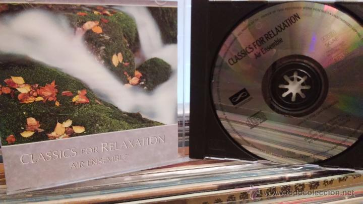 AIR ENSEMBLE - CLASSICS FOR RELAXATION - CD - NEW AGE / CLÁSICA - 2008 (Música - CD's New age)