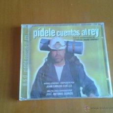 CDs de Música: CD NUEVO PRECINTADO BSO BANDA SONORA ORIGINAL CINE ESPAÑOL PÍDELE CUENTAS AL REY JUAN CARLOS CUELLO. Lote 64677377