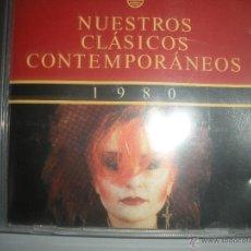 CDs de Música: MAGNIFICO CD .-DE CLASICOS CONTEMPORANEOS- DEL AÑO 1980 - NACHA POP - MIGUEL RIOS - ETC-. Lote 48757743