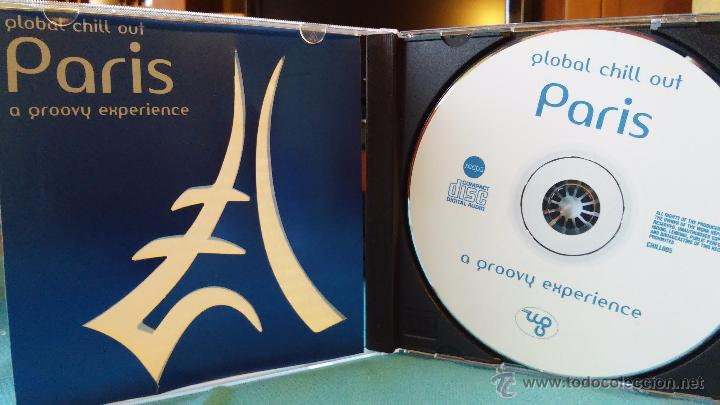 GLOBAL CHILL OUT - PARIS - A GROOVY EXPERIENCE - CHILLOUT - CD - 2006 (Música - CD's New age)