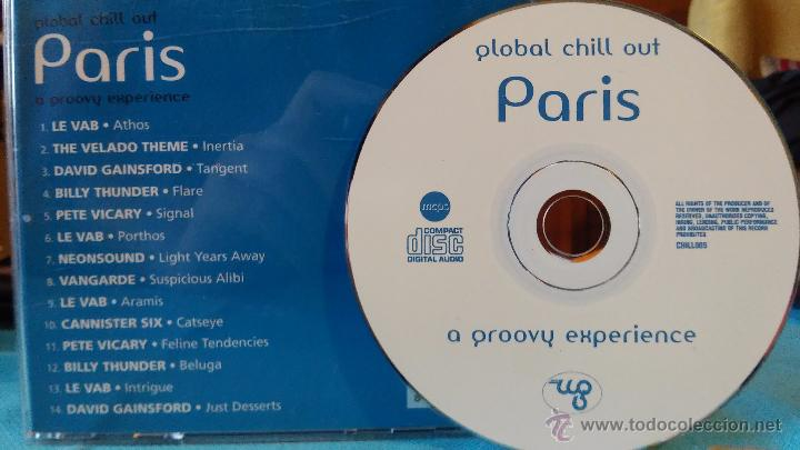 CDs de Música: GLOBAL CHILL OUT - PARIS - A groovy experience - chillout - CD - 2006 - Foto 2 - 48759984