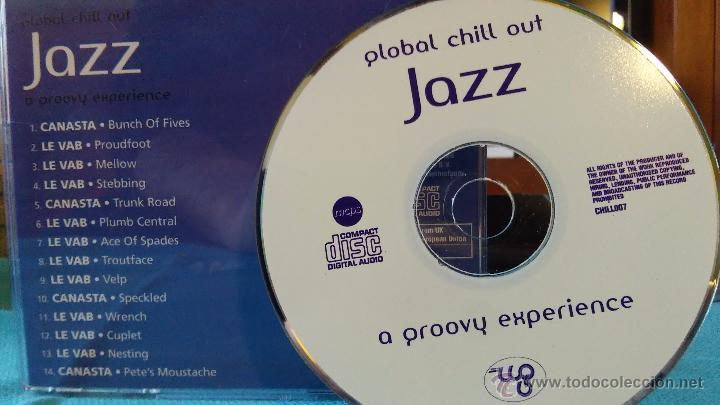 CDs de Música: GLOBAL CHILL OUT - JAZZ - A groovy experience - chillout - jazz fusión - CD - 2006 - Foto 2 - 48760015