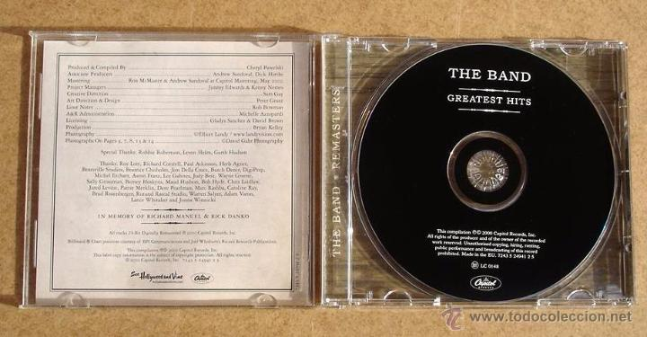CDs de Música: THE BAND - GREATEST HITS (CD) - Foto 2 - 48761792