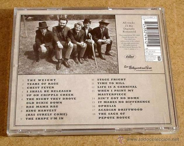 CDs de Música: THE BAND - GREATEST HITS (CD) - Foto 3 - 48761792