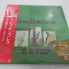 CDs de Música: ZZ TOP - TRES HOMBRES 1973/2013 JAPAN MINI LP PAPERSLEEVE CARDBOARD SHM CD WPCR-15169. Lote 48812353