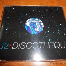 CDs de Música: U2 DISCOTHEQUE REMIXES CD SINGLE PORTADA PLASTICO 1997 4 TEMAS BONO U 2. Lote 48812637