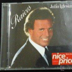 CDs de Música: JULIO IGLESIAS. RAÍCES. 1989 CON LIBRETO. Lote 48816380