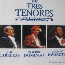 CDs de Música: LOS TRES TENORES. 9 TEMAS. BARSA PROMOCIONES. CD 0151 (EDICIÓN PROMOCIONAL MUY DIFÍCIL DE CONSEGUIR). Lote 48847475