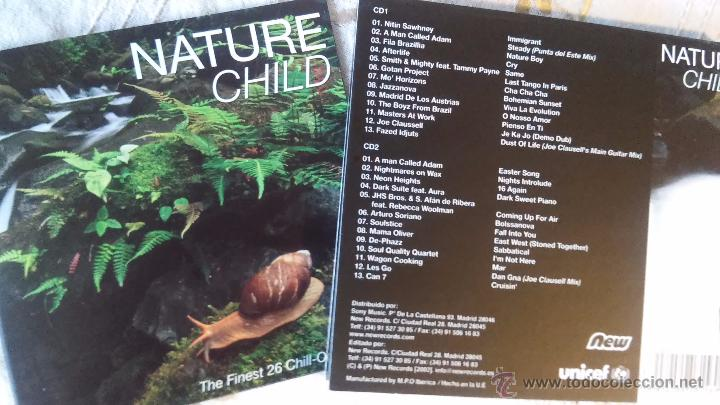NATURAL CHILD-THE FINEST 26 CHILL-OUT THEMES (GOTAN PROJECT, MASTER AT WORK, JAZZANOVA...) DOWNTEMPO (Música - CD's New age)