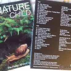 CDs de Música: NATURAL CHILD-THE FINEST 26 CHILL-OUT THEMES (GOTAN PROJECT, MASTER AT WORK, JAZZANOVA...) DOWNTEMPO. Lote 48847928