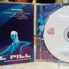 CDs de Música: CHILL PILL - PRESCRIBED LAID-BACK GROOVES - VARIOS - CD - ELECTRONIC/AMBIENT. Lote 48849370