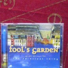 CDs de Música: FOOL'S GARDEN - GO AND ASK PEGGY FOR THE PRINCIPAL THING - CD PERFECTO ESTADO. Lote 48859702