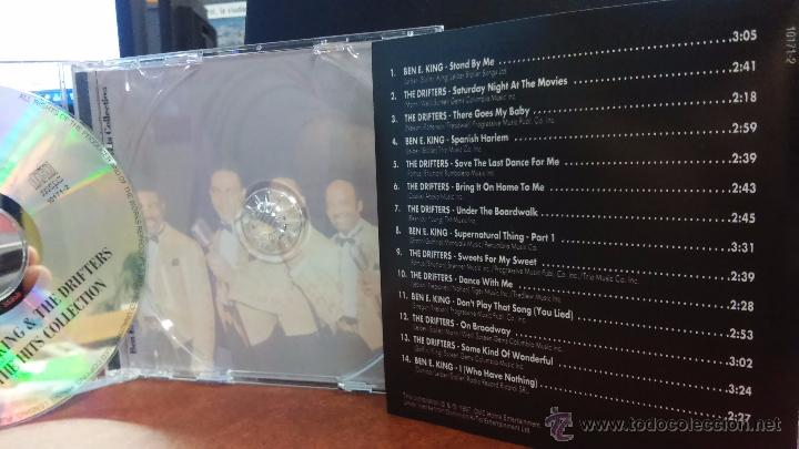 CDs de Música: BEN E KING & THE DRIFTERS - The Hits Collection - 1997 - Foto 2 - 159174172
