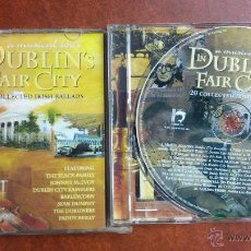 CDs de Música: A MUSICAL TOUR IN DUBLINS FAIR CITY (20 COLLECTED IRISH BALLADS) - CD (DUBLINERS, PADDY REILLY...). Lote 48865795