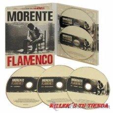 CDs de Música: ENRIQUE MORENTE - PACK 5 CD - FLAMENCO - EDICIÓN LTD DIGIPACK - PRECINTADO!!. Lote 110186943