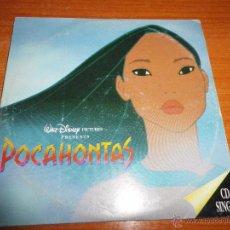 CDs de Música: POCAHONTAS BANDA SONORA VANESSA WILLIAMS / JON SECADA & SHANICE CD SINGLE PROMO ESPAÑOL 1995 DISNEY. Lote 48873193