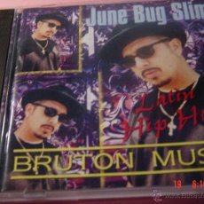 CDs de Música: JUNE BUG SLIM. LATIN HIP HOP. BRUTON MUSIC. CD EDICION EXTRANJERA. Lote 48873354