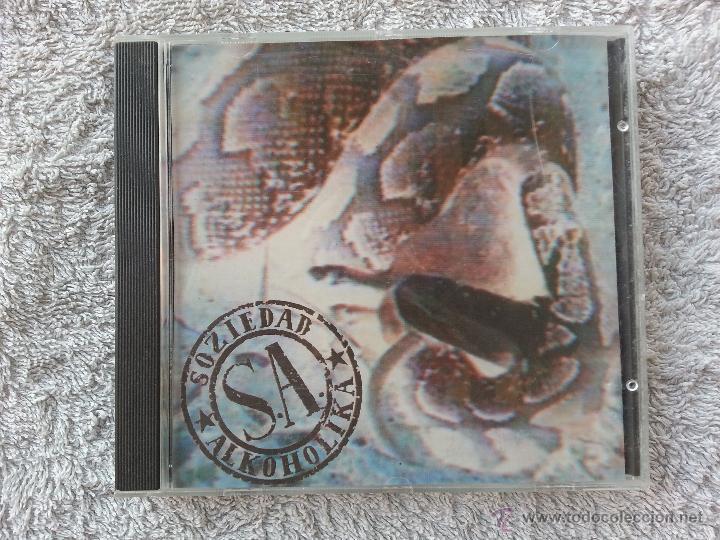 SOZIEDAD ALKOHOLIKA - RATAS - CD SINGLE PROMO (Música - CD's Rock)