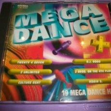 CDs de Música: MEGA DANCE - CD EXITOS - 1993 - 19 TRACKS - HITS. Lote 48917520