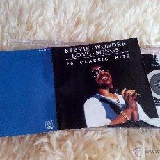CDs de Música: STEVIE WONDER - LOVE SONGS - CD ALBUM. Lote 48931142