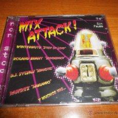 CDs de Música: MIX ATTACK ! NON STOP 97 CD ALBUM PRECINTADO RAMIREZ D.J. STAR ANALOGIC D.J. SYLVAN MIRROR 17 TEMAS. Lote 48934608