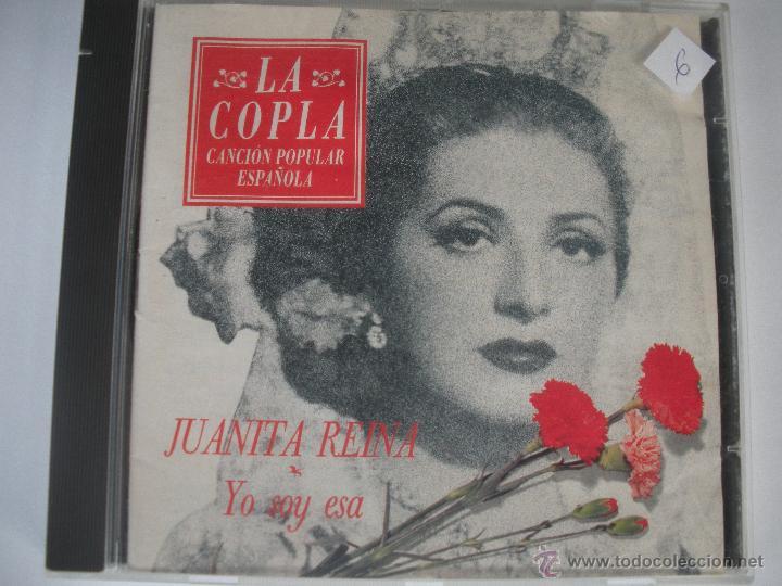 MAGNIFICO CD - DE LA COPLA CON JUANITA REINA -YO SOY ESA - (Música - CD's Flamenco, Canción española y Cuplé)