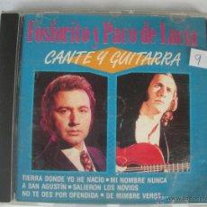 CDs de Música: MAGNIFICO CD DE - FOSFORITO Y PACO DE LUCIA -. Lote 48935624