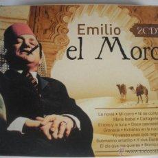 CDs de Música: MAGNIFICO DOBLE CD DE- E M I L I O - E L - M O R O -. Lote 48935850