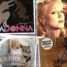 CDs de Música: 8 CD´S MADONNA : FEVER + FROZEN + WHAT... + JUMP + AMERICAN PIE + AMER. LIFE + BEDTIME + BURNING UP . Lote 48941612