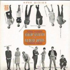 CDs de Música: CD ELS SETZE JUTGES ( ENRIC BARBAT, BONET, PI DE LA SERRA, GUILLERMINA MOTTA, SERRAT, LLUIS LLACH. Lote 48945935
