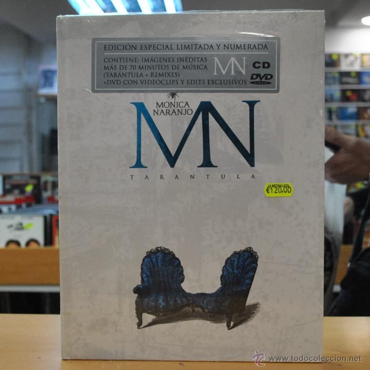 MONICA NARANJO - TARANTULA - EDICION ESPECIAL LIMITADA Y NUMERADA - DVD / CD (Música - CD's Pop)