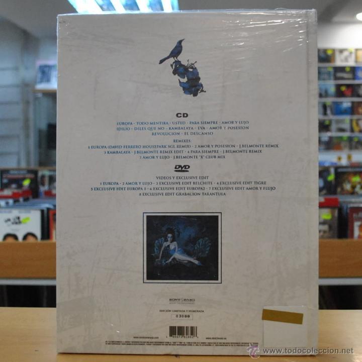 CDs de Música: MONICA NARANJO - TARANTULA - EDICION ESPECIAL LIMITADA Y NUMERADA - DVD / CD - Foto 2 - 188557991