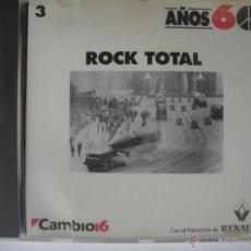 CDs de Música: MAGNIFICO CD DE LOS AÑOS 60 - ROCK - TOTAL -. Lote 48966839