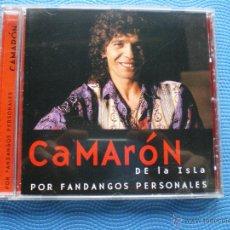 CDs de Música: CAMARON DE LA ISLA POR FANDANGOS PERSONALES CD ABUM PEPETO. Lote 48967022
