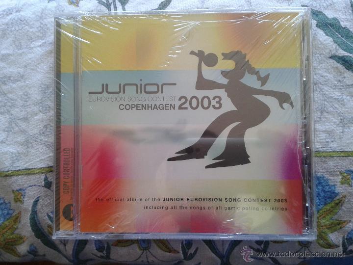 CD DVD OFICIAL DEL FESTIVAL EUROVISIÓN JUNIOR 2003 (NUEVO PRECINTADO) 17 TEMAS ESPAÑA (LEER ANUNCIO) (Música - CD's Otros Estilos)
